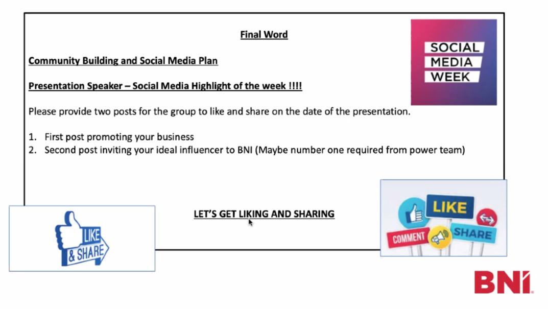 Social Media Week - Final Word