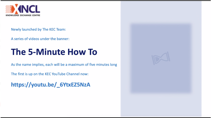 The 5-Minute How to