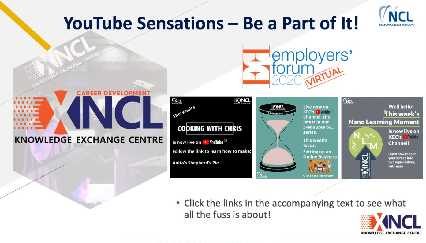 NCL YouTube Sensations - Be a Part of It