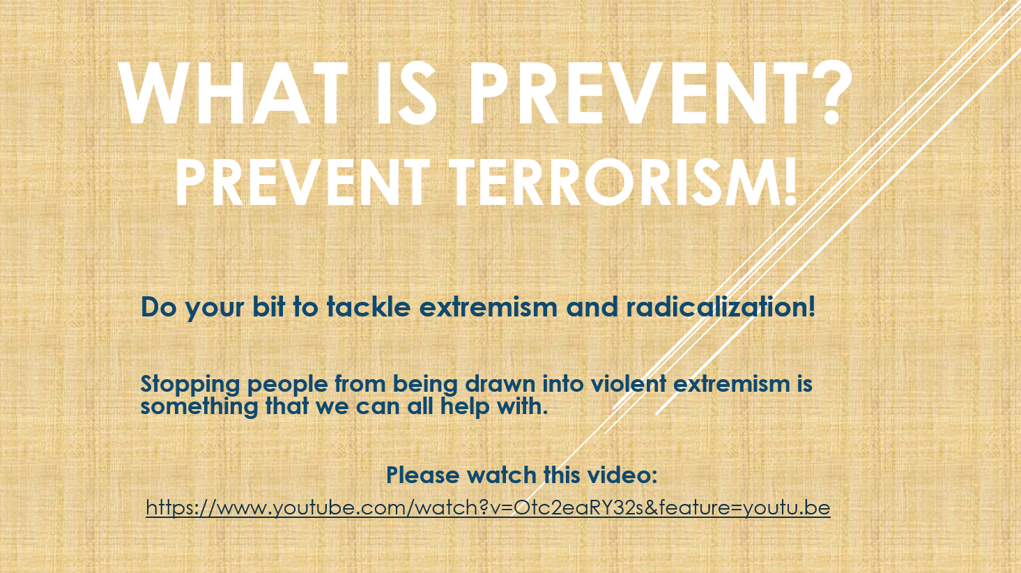 WHAT IS PREVENT?