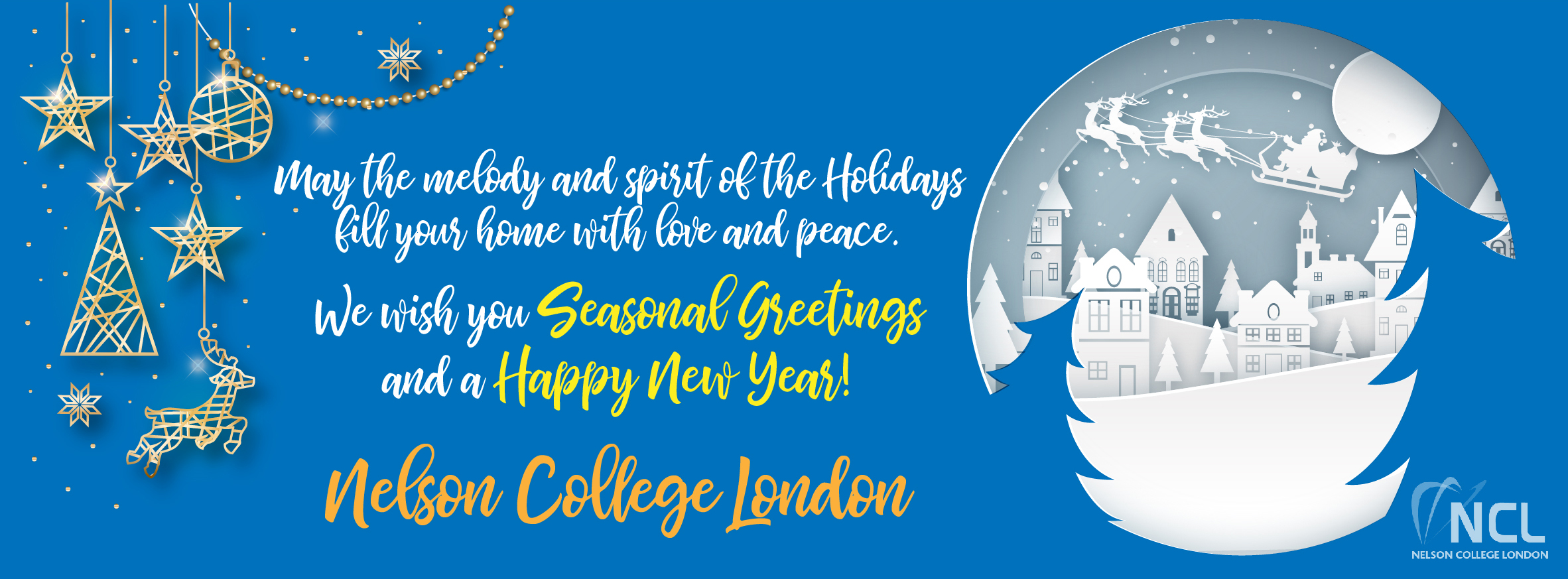 Seasonal Greetings and a Happy New Year