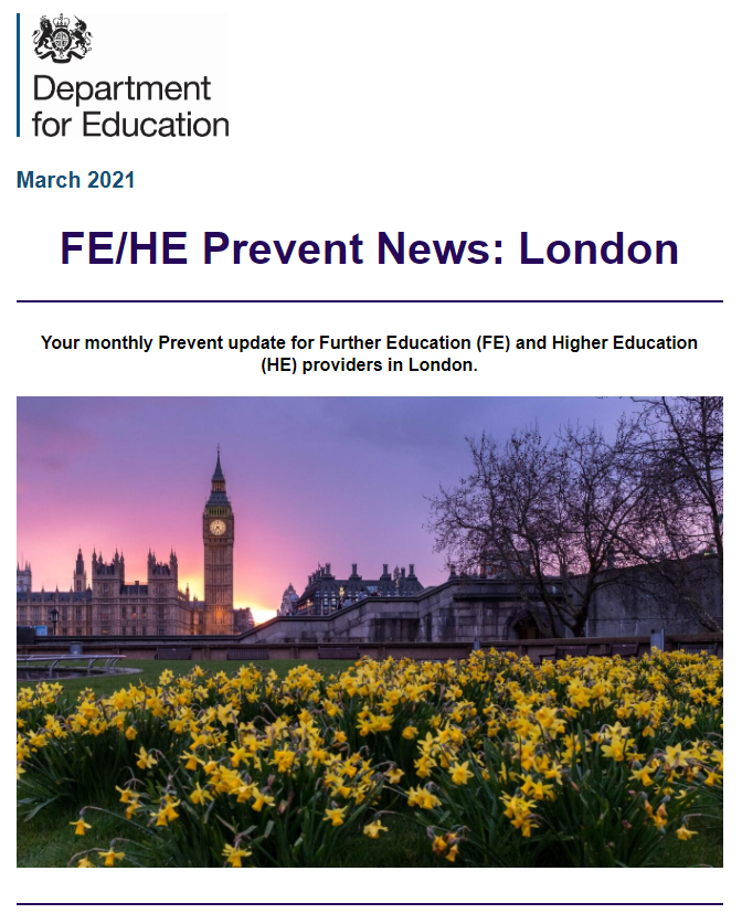 FE/HE Prevent News: London