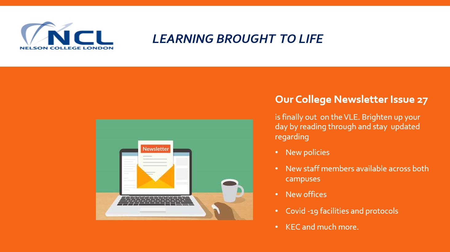 learning brought  to life - Learning brought  to life